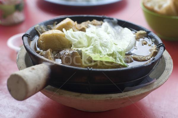 famous malaysian food,klang ba kut teh Stock photo © yuliang11