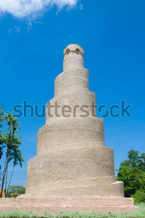 spiral minaret samarra mosque Stock photo © yuliang11