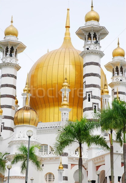 Cami Bina şehir seyahat mimari Tanrı Stok fotoğraf © yuliang11
