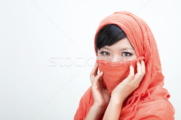 islamic women Stock photo © yuliang11