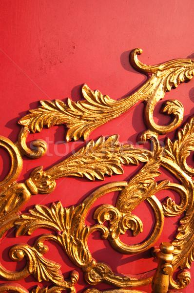Flore modèles mur texture printemps résumé Photo stock © yuliang11