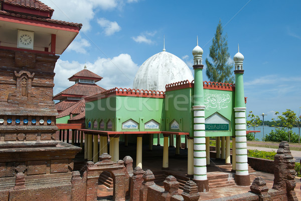 kudus minar, mosque in central java, indonesia Stock photo © yuliang11