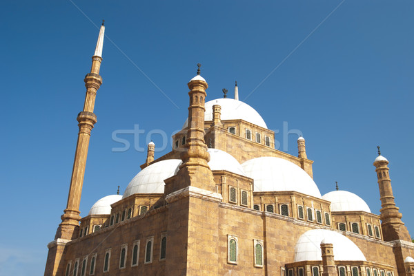 Mohammad Ali mosque front shot , Cairo  Stock photo © yuliang11