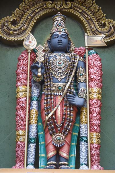 God standbeeld achtergrond asian indian asia Stockfoto © yuliang11