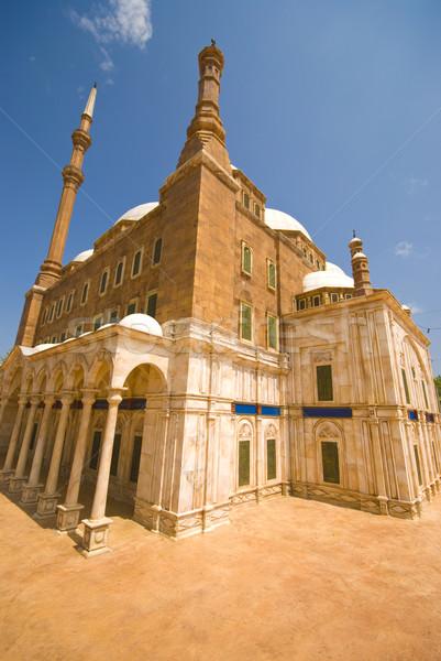 Mezquita Cairo azul África historia religión Foto stock © yuliang11