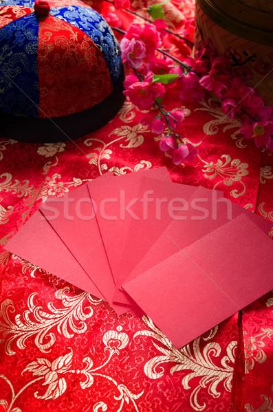 chinese new year ang pow Stock photo © yuliang11