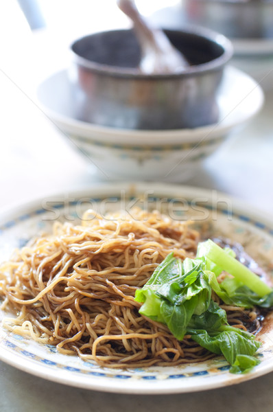famous duck leg noodle Stock photo © yuliang11