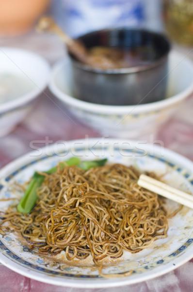 famous bidor wanton duck leg noodle,perak,malaysia Stock photo © yuliang11