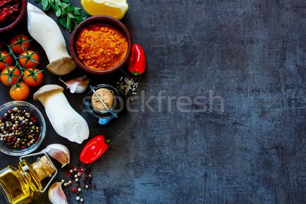 Сток-фото: приготовления · Ингредиенты · Top · мнение · красочный · фермы