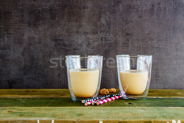 Ice coffee or latte Stock photo © YuliyaGontar