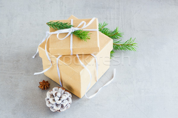 Holiday Cristmas Card Stock photo © YuliyaGontar