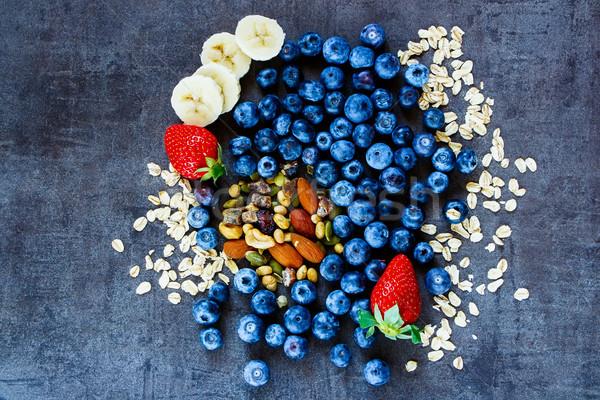 健康 材料 朝食 スムージー 燕麦 ストックフォト © YuliyaGontar