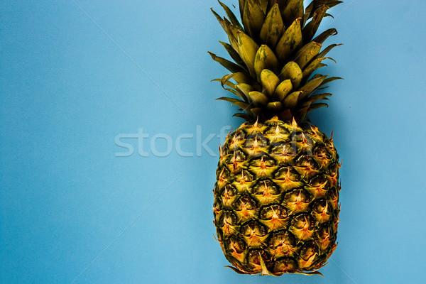 トロピカルフルーツ パイナップル 青 便利 自然 ストックフォト © YuliyaGontar