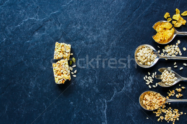 Healthy energy snack Stock photo © YuliyaGontar