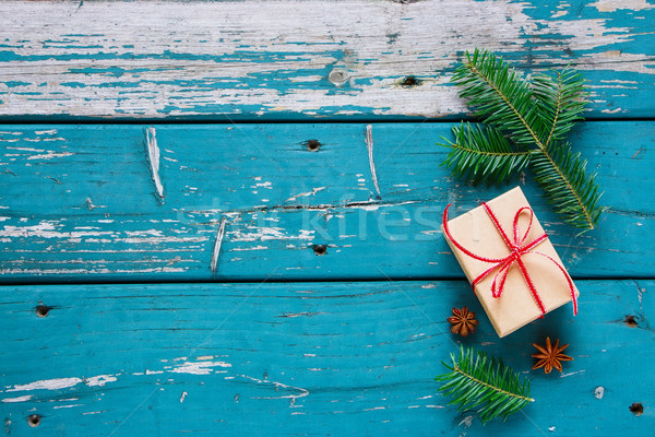 クリスマス 国境 ギフト ストックフォト © YuliyaGontar