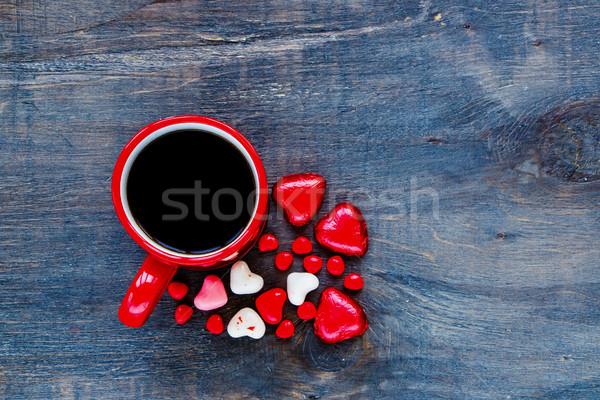 Valentine's day composition Stock photo © YuliyaGontar