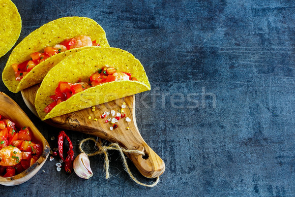 Mexican cuisine concept Stock photo © YuliyaGontar