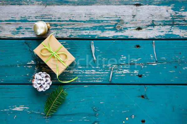 Christmas gift or present Stock photo © YuliyaGontar