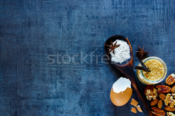 Bakery recipe background Stock photo © YuliyaGontar