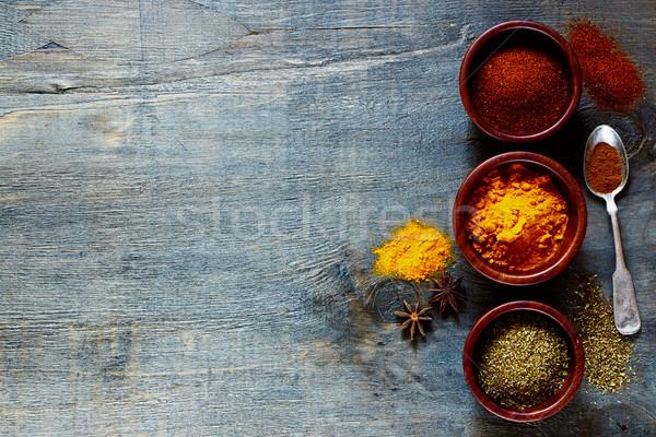spices and herbs Stock photo © YuliyaGontar