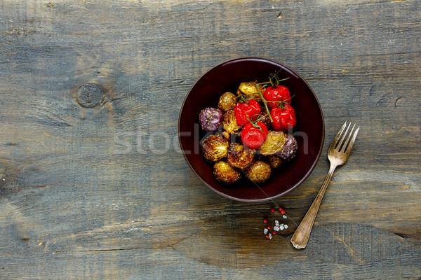 Vegan dinner bowl  Stock photo © YuliyaGontar