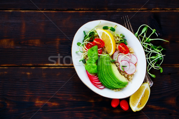 Quinoa salad Stock photo © YuliyaGontar