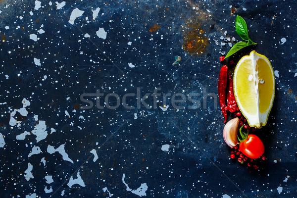 健康的な食事 料理 食品 健康 食べ 新鮮な ストックフォト © YuliyaGontar