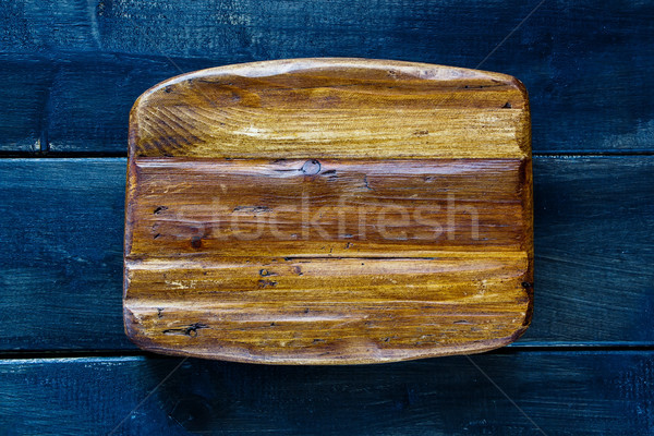 Stock photo: Wooden cutting board