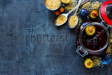 Sicilian Blood oranges Stock photo © YuliyaGontar