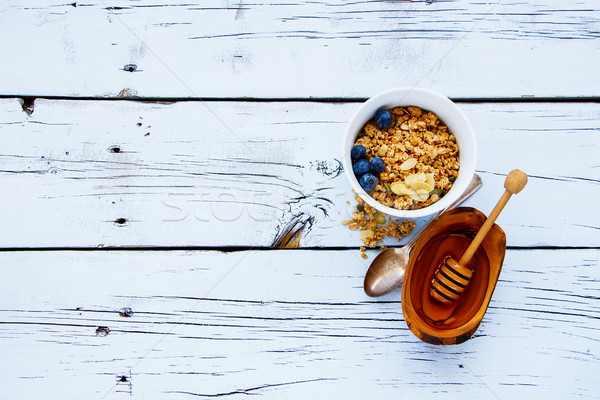 granola and breakfast ingredients Stock photo © YuliyaGontar