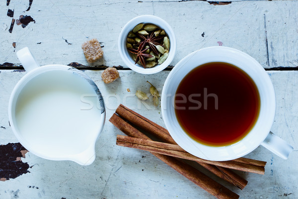 Cup of tea Stock photo © YuliyaGontar