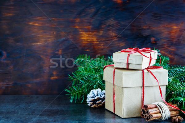 Holiday Greeting Card Stock photo © YuliyaGontar
