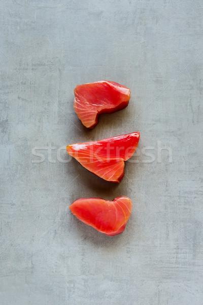 Atum peixe luz saudável cozinhar Foto stock © YuliyaGontar