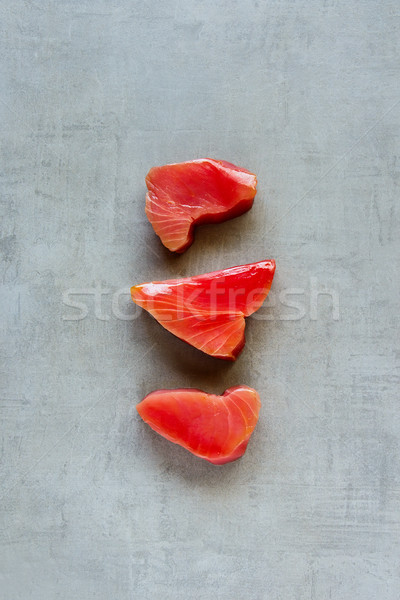 Atún peces crudo luz saludable cocina Foto stock © YuliyaGontar