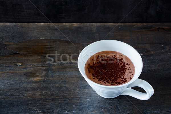 Stock photo: Delicious hot chocolate