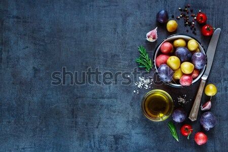 Stok fotoğraf: Taze · organik · sebze · lezzetli · malzemeler · patates