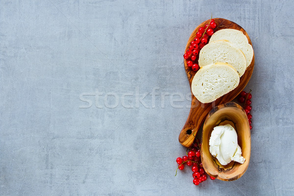 Ingredients for crostini Stock photo © YuliyaGontar