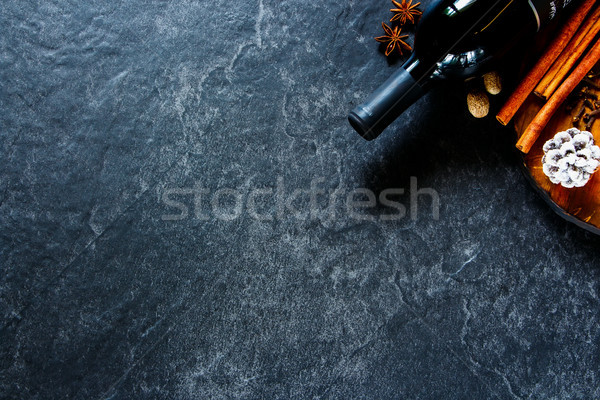 Making mulled wine Stock photo © YuliyaGontar