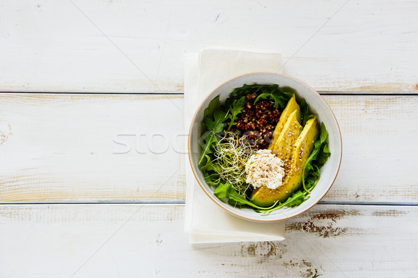 Balanced veggie breakfast  Stock photo © YuliyaGontar