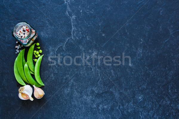 Stock photo: Vegetarian eating concept
