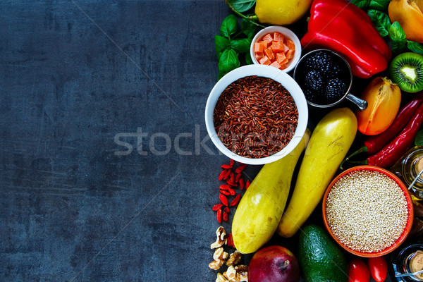 Stock photo: Clean eating diet