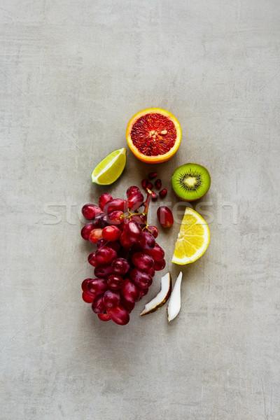 Colorful organic fruits Stock photo © YuliyaGontar
