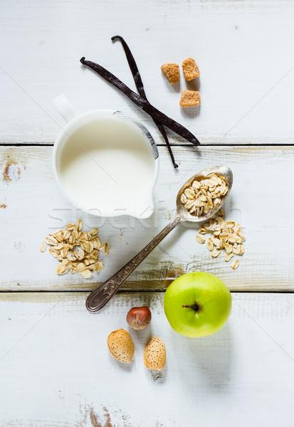 breakfast Stock photo © YuliyaGontar