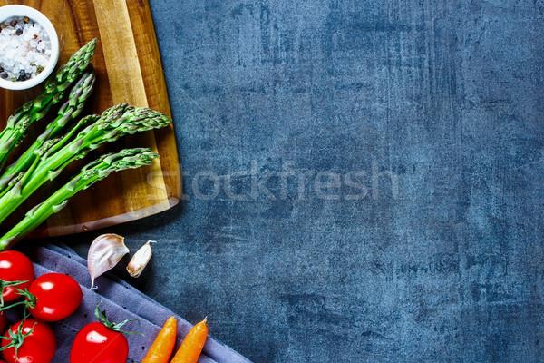 Colorato verdura varietà gustoso Foto d'archivio © YuliyaGontar
