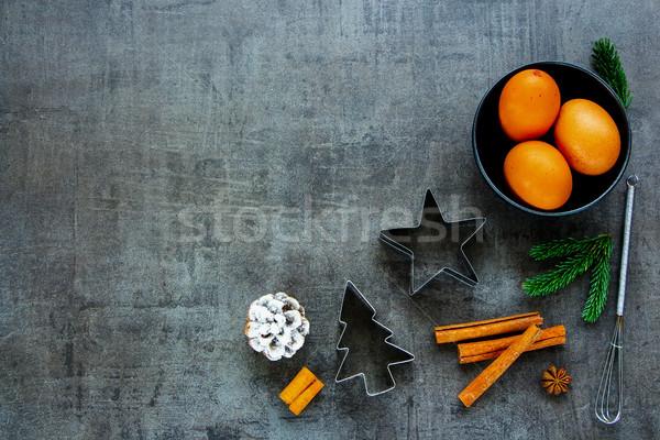Holiday Christmas baking Stock photo © YuliyaGontar