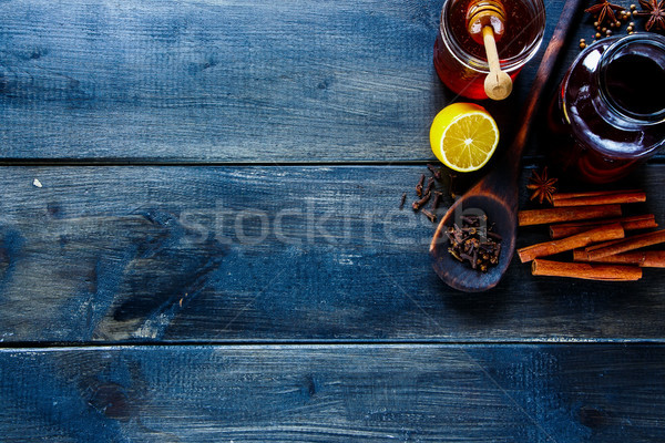 Stock photo: Making mulled wine