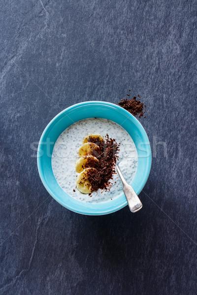 Chia seed pudding Stock photo © YuliyaGontar