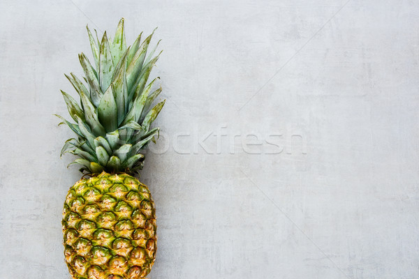 Stock photo: Tropical fruit pineapple