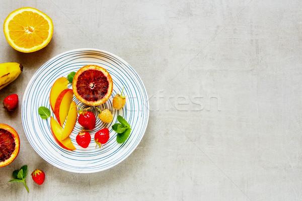 Frutti fresche frutti di bosco tropicali bio alimentare Foto d'archivio © YuliyaGontar