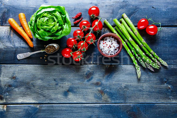 Vegan and diet cooking Stock photo © YuliyaGontar